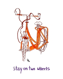 stay on two wheels
